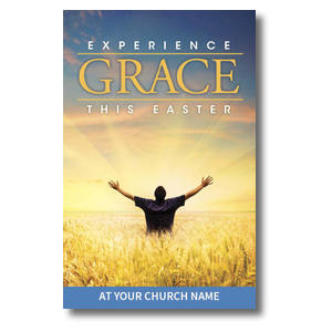 Experience Easter Field Grace Postcards
