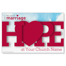 Art of Marriage HOPE Postcard