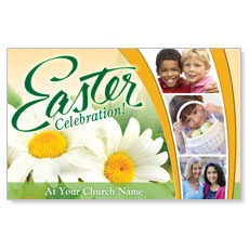 Easter Grid Postcard