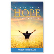 Experience Easter Field Hope Postcard