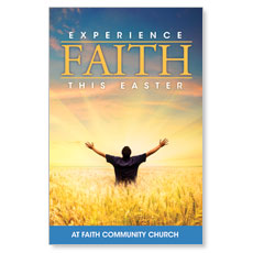 Experience Easter Field Faith Postcard
