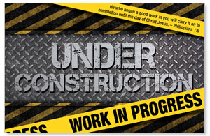 Under Construction Postcards