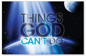 God Can't Do