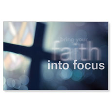 Faith into Focus Postcard