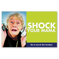 BTC Shock Your Mama Postcard