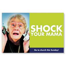 BTC Shock Your Mama Postcard