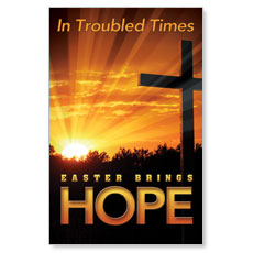 Easter Hope Trouble Postcard