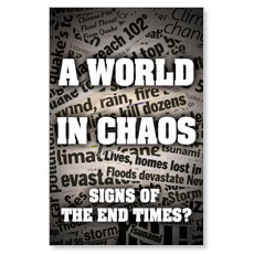 World Chaos Headline Postcard