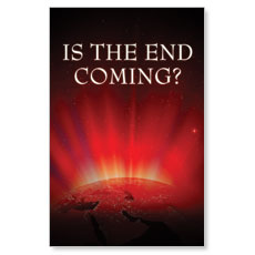 The End is Coming Postcard