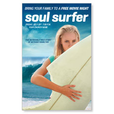 Soul Surfer Movie Event Postcard