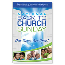 BTC Churches Anytown Postcard