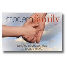 Modern Family Postcard