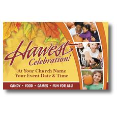 Harvest Grid Postcard