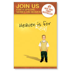 Heaven is for Real Postcard