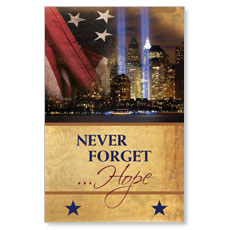 Never Forget Hope Postcard