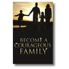 Courageous Family Postcard