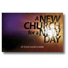 New Church Postcard