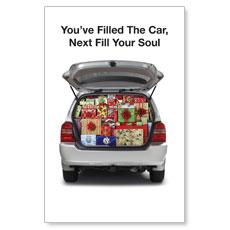 Christmas Soul Postcard