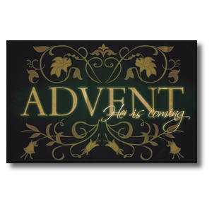 Advent Is Coming Postcards