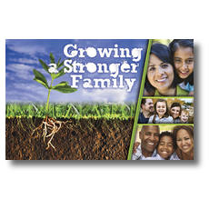 Growing Families Postcard