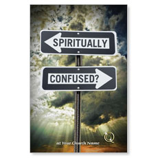 Spiritually Confused Postcard