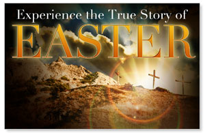 True Story Easter Postcards