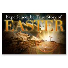True Story Easter Postcard