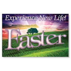 New Life Easter Postcard
