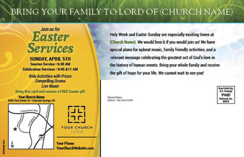Circles easter postcard church postcards outreach marketing image 2 negle Image collections