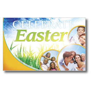 Circles Easter Postcards