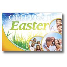Circles Easter Postcard