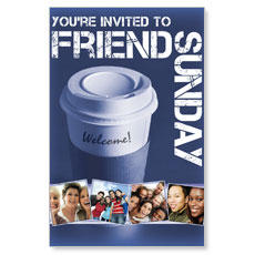 Wow! Sunday Friend Sunday Postcard