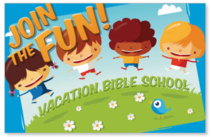VBS Join The Fun Postcards