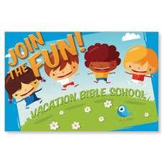 VBS Join The Fun Postcard