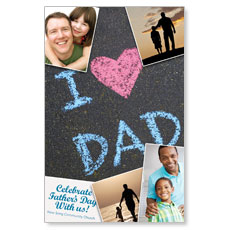 Fathers Day Invited Postcard
