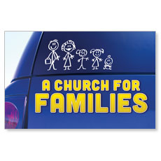 A Church for Families Postcard