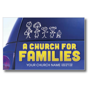 Church for Families Postcards