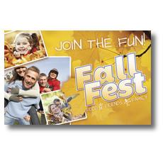Fall Fest Postcard