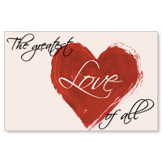 Greatest Love Postcard