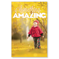 Something Amazing Postcard