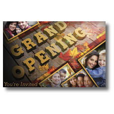 Fall Grand Opening Postcard