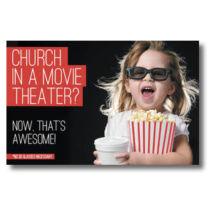 Movie Theater Church Postcards