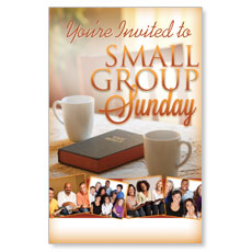 Wow! Sunday Small Group Sunday Postcard