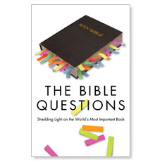 The Bible Questions Postcard