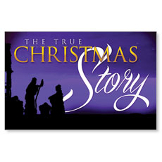 True Christmas Story Postcard