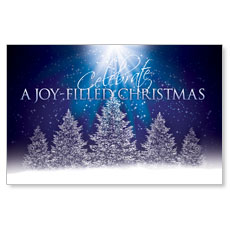 Joy of Christmas Postcard