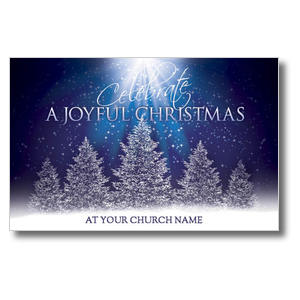Joy of Christmas Church Postcards