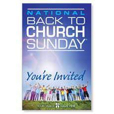 Back To Church Sunday 2013 Postcard