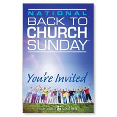Back To Church Sunday 2013 Postcard