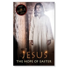 Jesus Hope of Easter Postcard